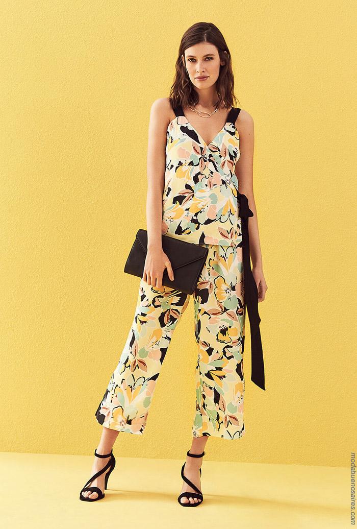 Blusas y pantalones primavera verano 2020. Moda mujer primavera verano 2020.
