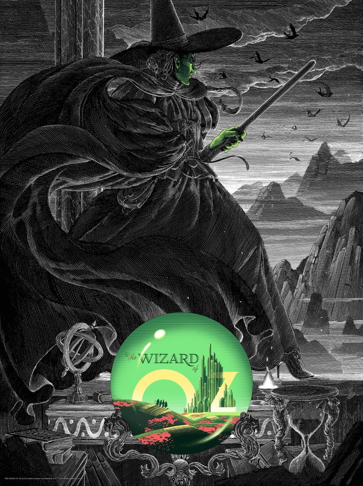 Inside The Rock Poster Frame Blog Nicolas Delort Wizard Of Oz