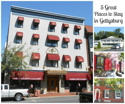 6 Great Places to Stay in Gettysburg Pennsylvania