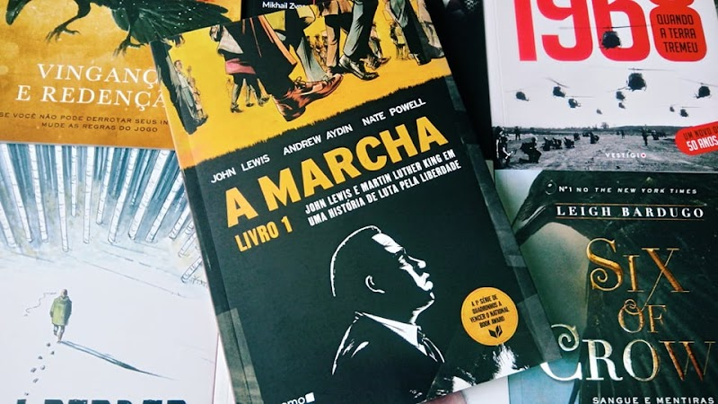 [RESENHA #500] A MARCHA (LIVRO 1) - JOHN LEWIS, ANDREW AYDIN E NATE POWELL
