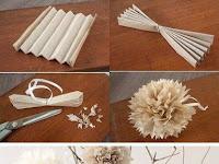 Cara Membuat Origami Bunga 3D