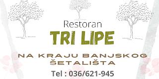 Restoran Tri lipe, vrnjacka banja