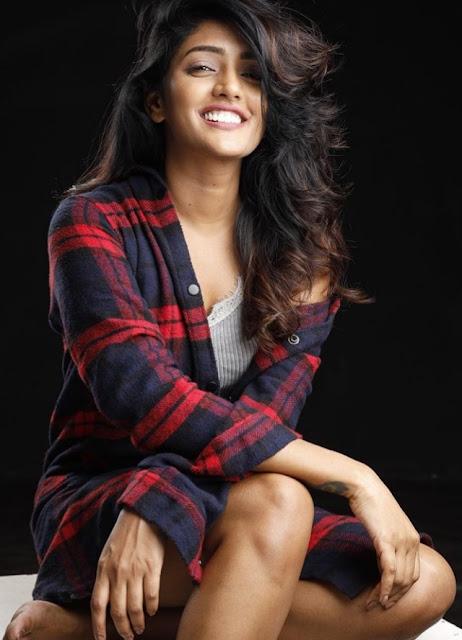 Eesha Rebba Astonishing in Red Shirt
