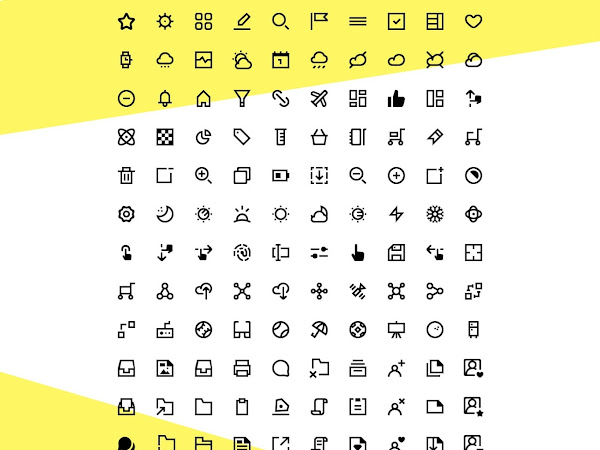 1800 Minimal Vector Icons Free Download