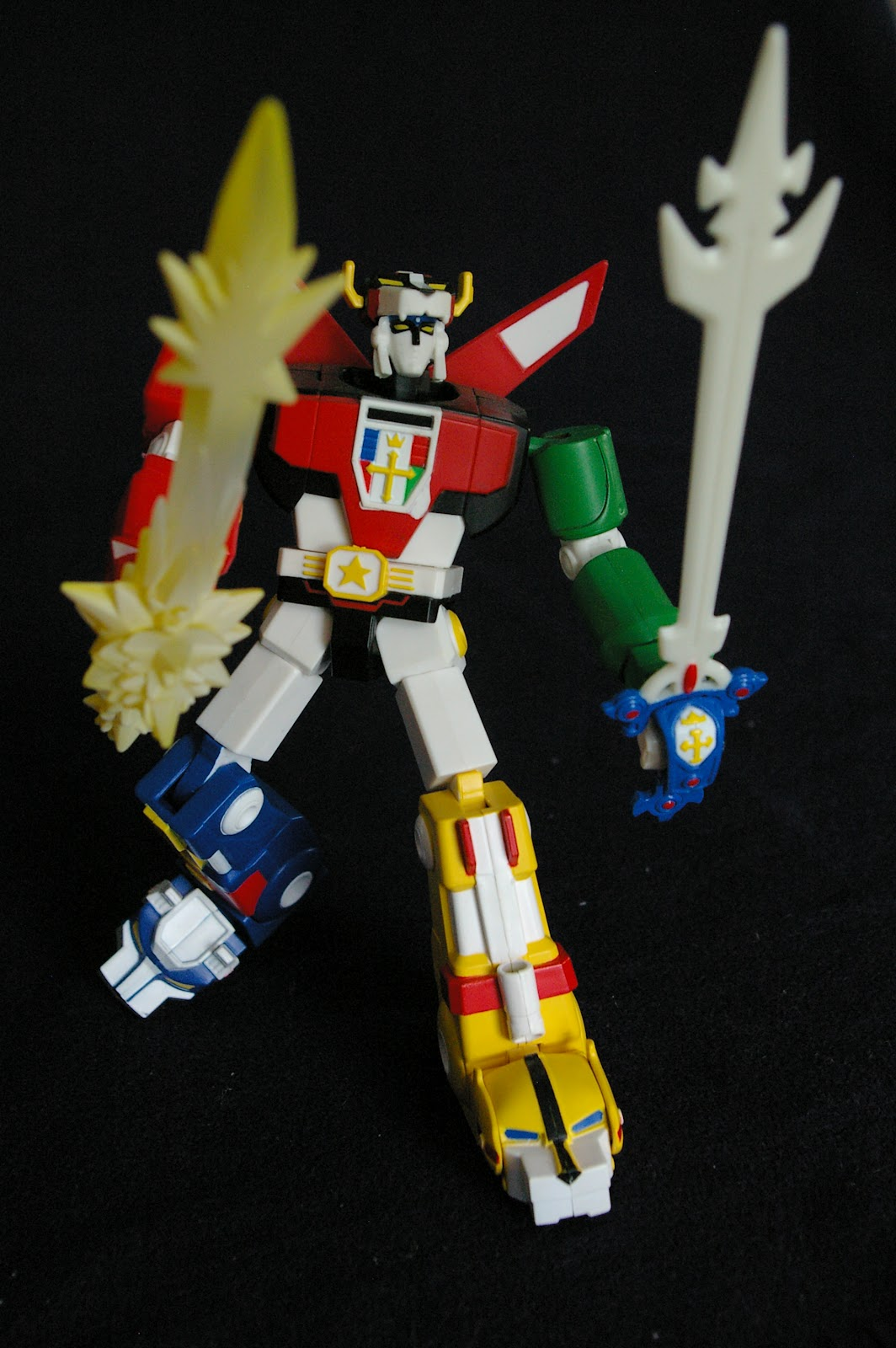 Action Figure Adventures: Blazing Sword Voltron