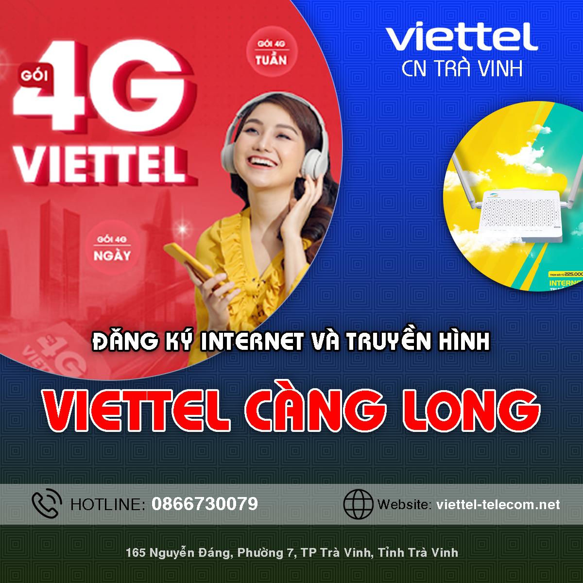Cửa hàng Viettel huyện Càng Long