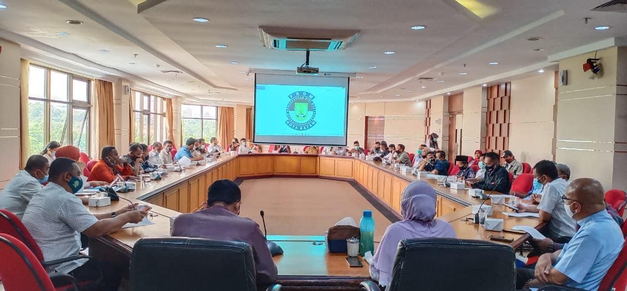 Kesbangpol Silaturahmi dengan FKDM Batam dan Kecamatan se-Kota Batam