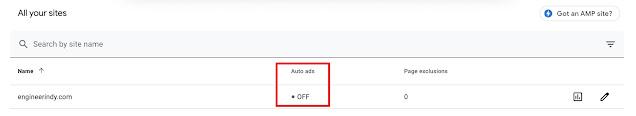 วิธีเอา Auto Ads ของ Google AdSense ออกจาก Blogger