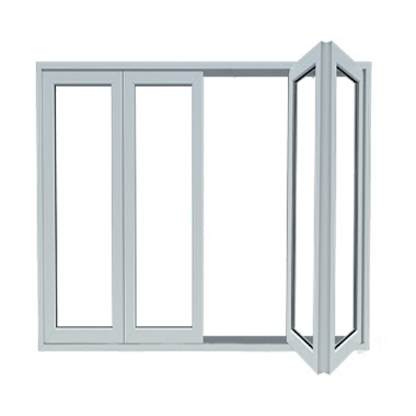 Weka Folding UPVC Door (Pintu Lipat)