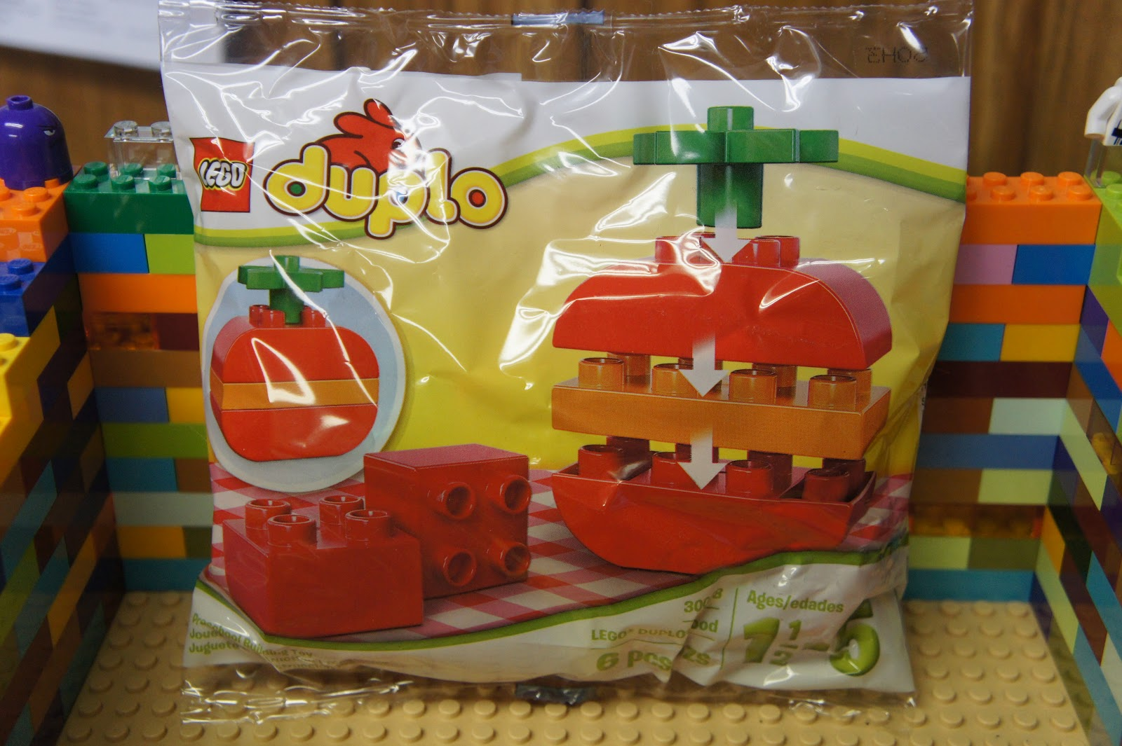 Lego Toy Food : Lego duplo apple food preschool building toy polybag