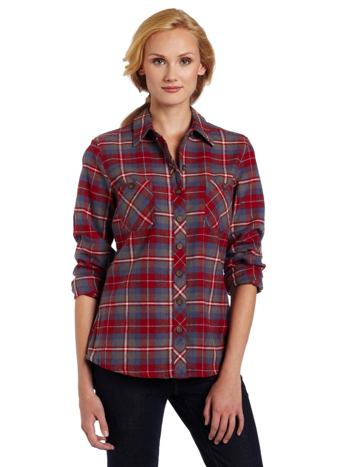 Plaid Flannel Shirts For Women