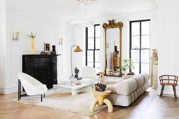 Eyeswoon Mario Bellini sofa by Nicole Franzen