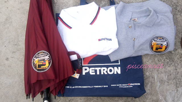 Petron and Philippine FJ Cruiser souvenirs