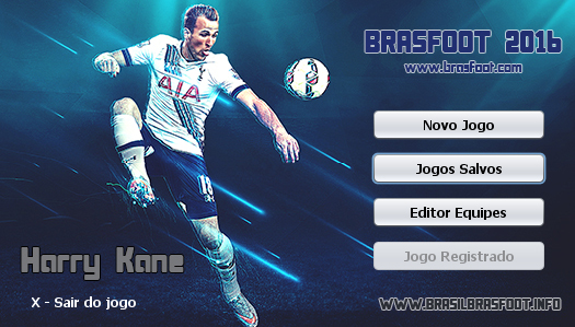 Skin Harry Kane - Tottenham Hotspur para Brasfoot 2016