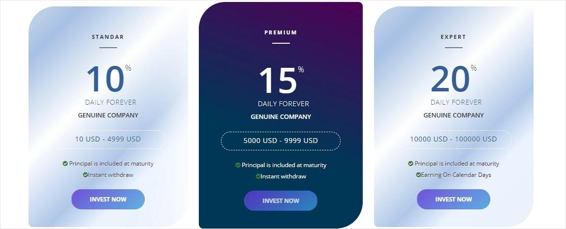 Инвестиционные планы Bitochen