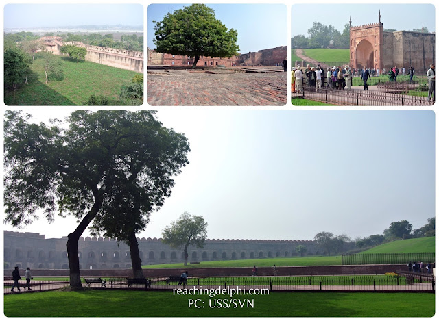 wall city, Agra Fort