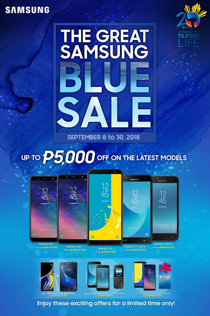 The Great Samsung Blue Sale