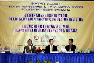 Seminar and Exhibition Refrigeration and Air Conditioning Line, Launching IKARA