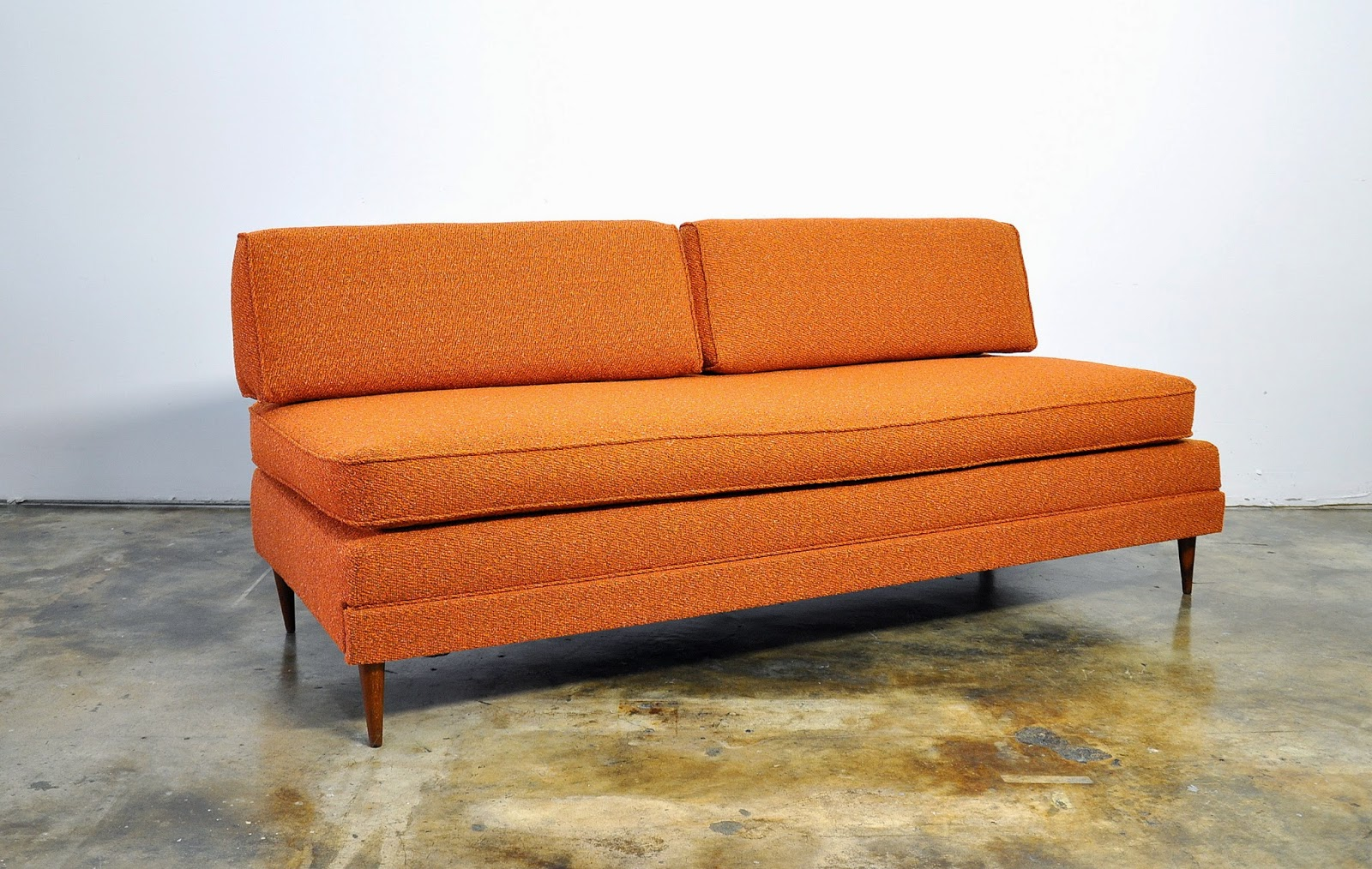 Modern Sofa With Trundle Tropical Print Slipcovers Select Danish Or Daybed