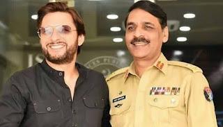 Asif Ghafoor has an old connection, Shahid Afridi