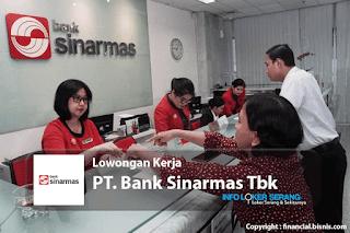 Lowongan Kerja Frontliner PT. Bank Sinarmas Tbk Penempatan Serang
