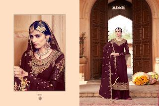 Zubeda Mehzbin Georgette Bridal Salwar Kameez Collection