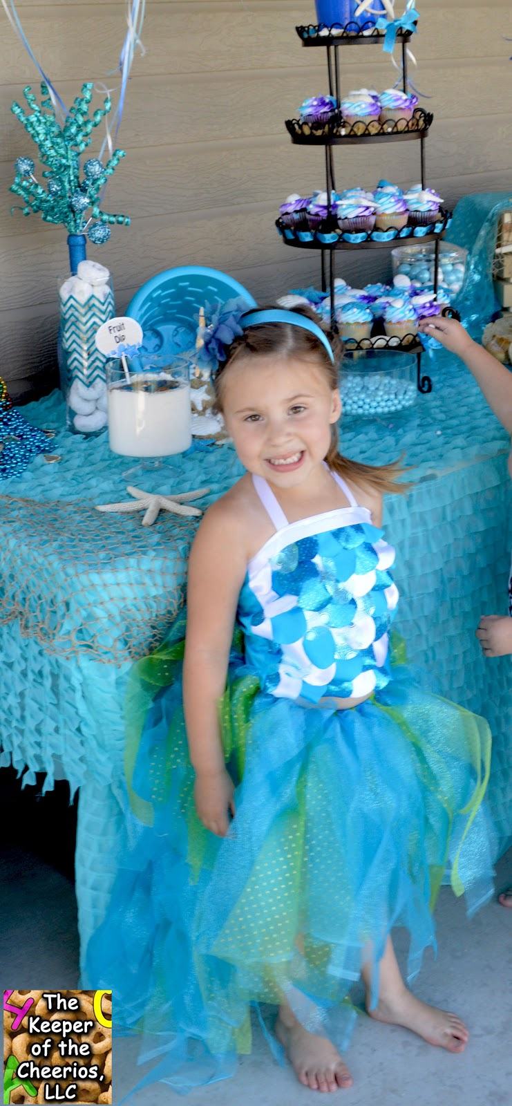 Mermaid Princess Birthday Party