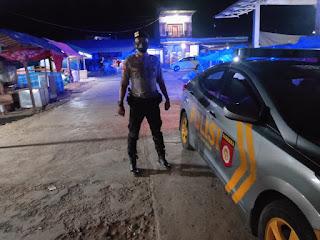 Patroli Blue Light Polsek Alla Polres Enrekang Antisipasi Kriminal