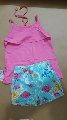 Kit de roupa infantil para revenda