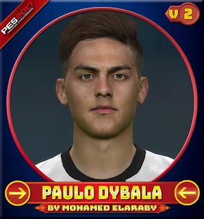 PES 2017 Faces Paulo Dybala by M.Elaraby