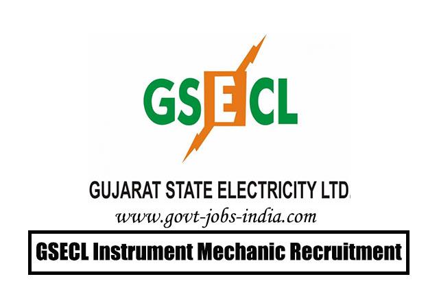GSECL Instrument Mechanic Recruitment 2020 – 37 Instrument Mechanic Vacancy – Last Date 17 March 2020