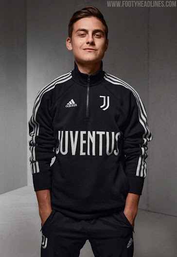 Icon Sports Compatible with Juventus Soccer Hoodie and Beanie Combo 11-XL