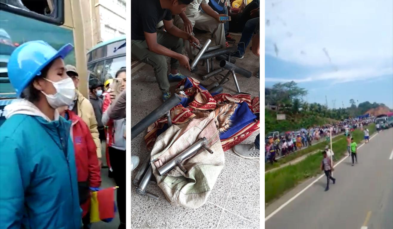 Testimonios sobre el accionar de los adeptos al MAS para defender el proceso de cambio derivó en violencia / RRSS