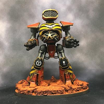 Legio Ignatum Reaver Titan for Adeptus Titanicus