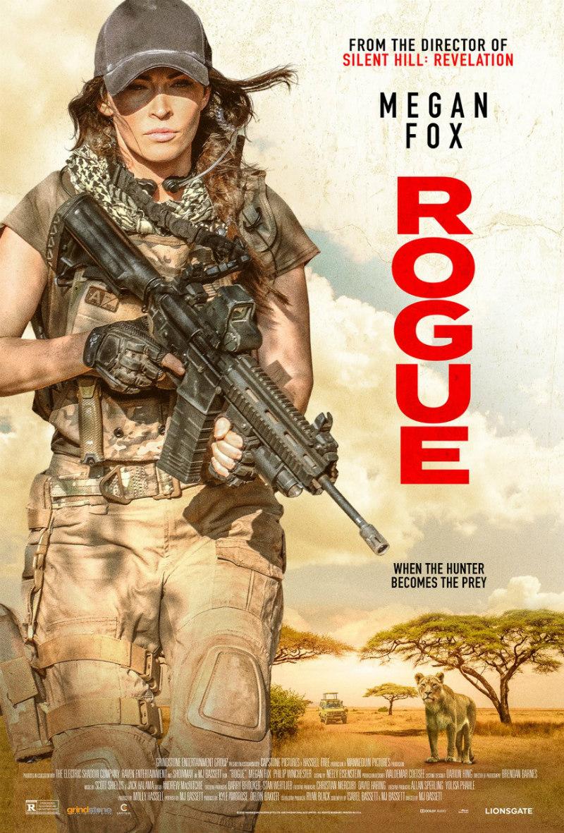 Rogue Megan Fox poster