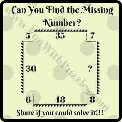 Easy math brain teaser for students