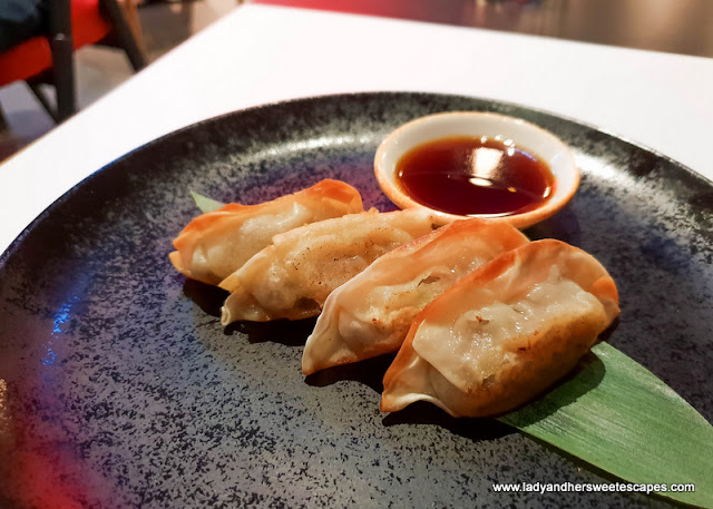 Gyoza in 24th St Dusit Thani Dubai