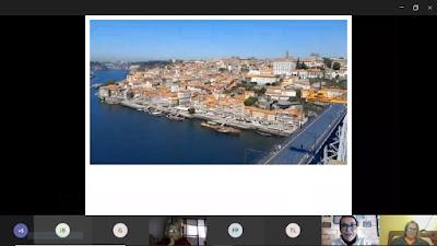 imagem de um tour virtual na cidade do Porto