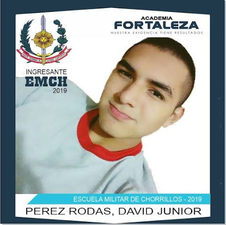 Ingresante de academia fortaleza - ESCUELA MILITAR DE CHORRILLOS
