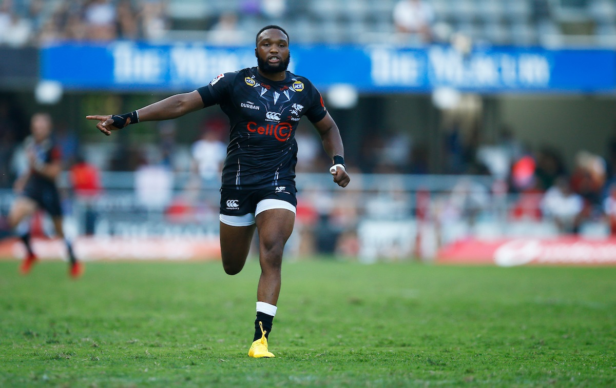 Lukhanyo Am (captain) of the Cell C Sharks