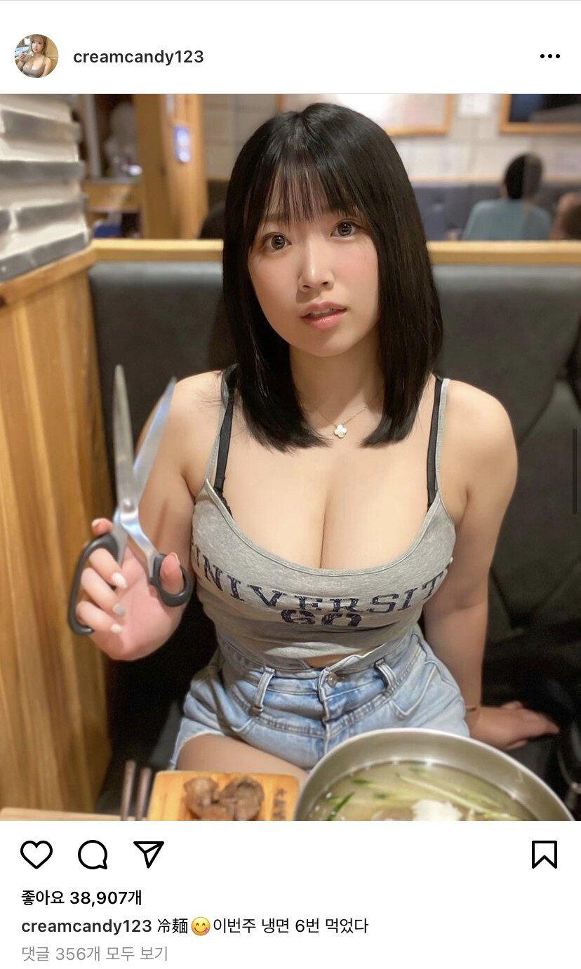 이번주 냉면 6번 먹었다는 일본 처자 - 디쁠