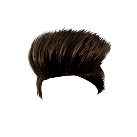 Brown CB Hairstyle PNG Free Stock Image [ Download Now ]
