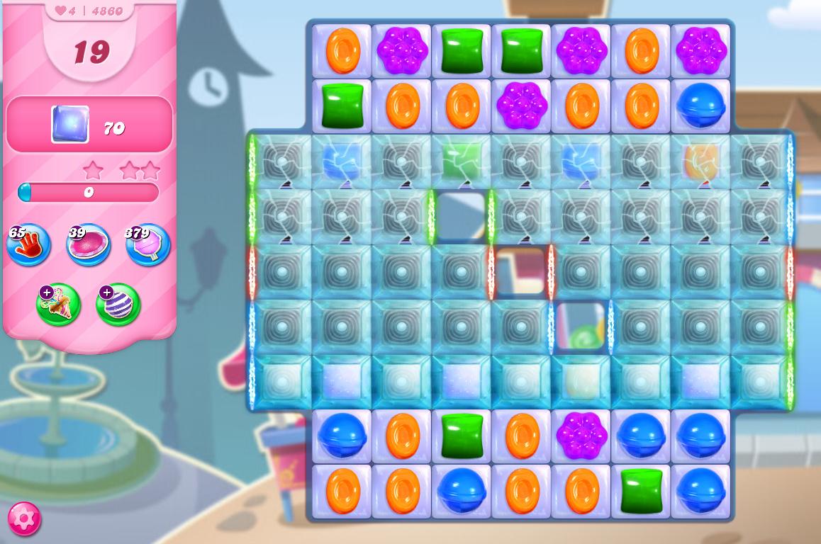 Candy Crush Saga level 4860