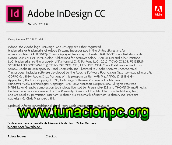 Adobe InDesing CC 2017 para windows y macos