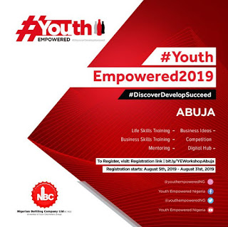 COCA COLA HBC YOUTH EMPOWERED PROGRAM 2019 FOR ABUJA YOUTHS