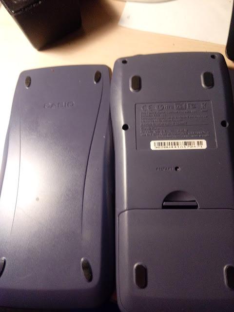 Case and Back: Casio fx-9750GII
