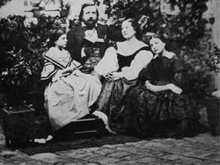 Théophile-Gautier-famiglia