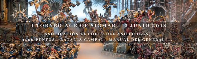 Torneo Age of Sigmar Barcelona