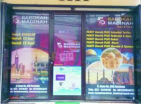 Tempat Percetakan One Way Stiker Murah Di Bengkulu