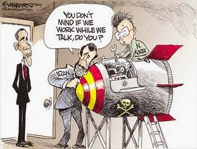 Iran bygger atombomb